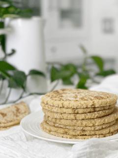 vegen gluten-free oil-free Irish potato Flatbread
