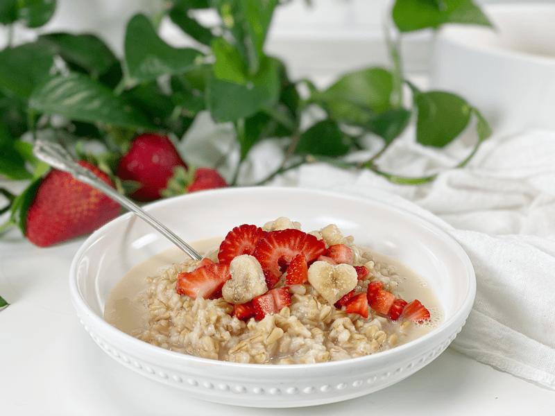 vegan gluten-free oat groats cooked in instant pot