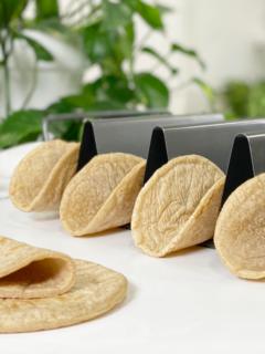 vegan gluten-free oil-free sorghum and cassava tortillas