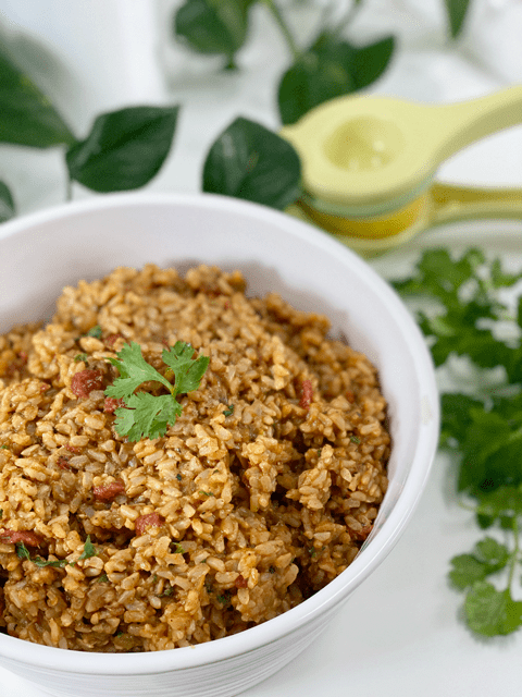 vegan oil-free Spanish Rice
