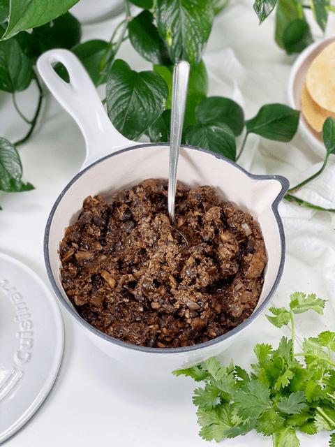 vegan gluten-free taco meat