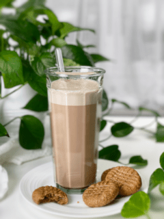 raw vegan chocolate peppermint almond milk