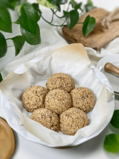 gluten-free vegan oil-free grain-free nut-free tiger nut and buckwheat dinner rolls