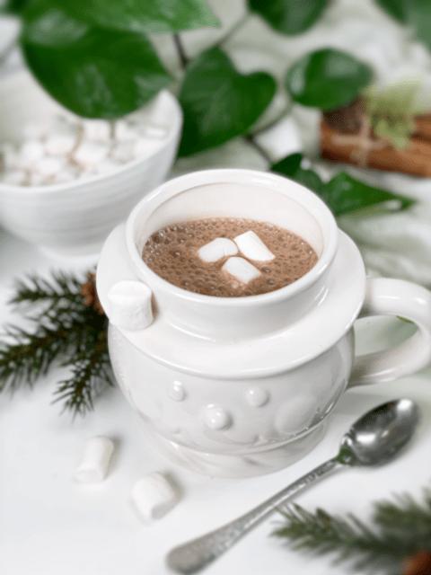 vegan homemade Espresso my love hot chocolate mix
