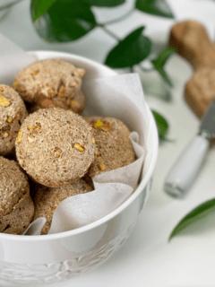 gluten-free diary-free honey sweetened corn muffins